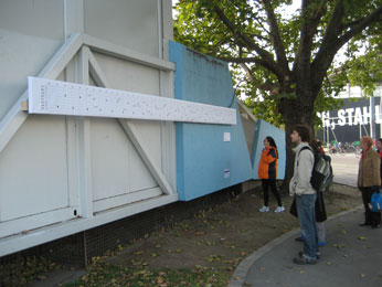 "Boris Ondreicka: ""Ding Dong Band – Stand Under"" , 2008 (Sound-Installation)"