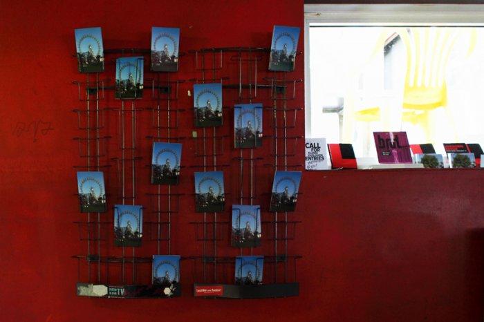 Liddy Scheffknecht, Ohne Titel (Riesenrad), Postkarte, 2011