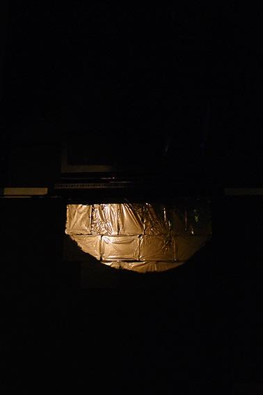Susanne Richter: 17 blatt koresfilm (Wandinstallation 2012)