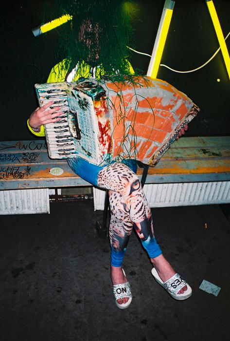 Kris Lemsalu, Never marry European, 2014, Performance. Courtesy the artist
