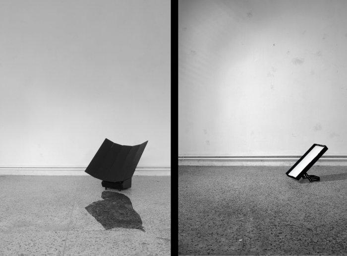 Samuel Schaab, test/screen, 2010, Mehrkanal Video, Schwarz/Weiss, 2-4 Loops, 8.00 min, 2 Stills