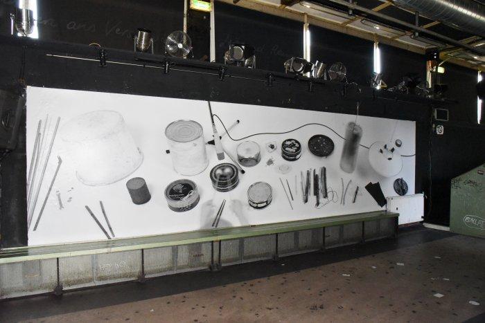 Stefan Klampfer, o.T., 2018, Plakatdruck, Courtesy der Künstler