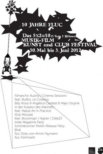 Bild zu 10 Jahre FLUC - das 5x2=10 Musik-Film-Kunst- und Club-Festival