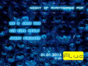 Bild zu The 2nd Night of Avantgarde-Pop