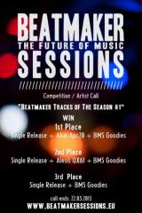 Flyer für 22 Mai BEATMAKER SESSIONS