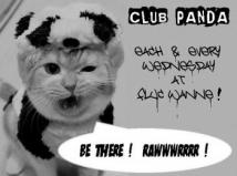 Flyer für 22 Mai CLUB PANDA - Free Donation Party