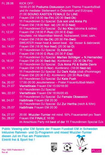 Bild zu Frauen EM + 11 Freundinnen DJ Spezial