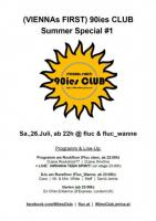 Flyer für 26 Juli (VIENNAs FIRST) 90ies CLUB