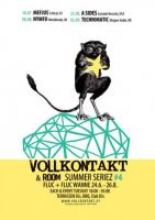 Flyer für 29 Juli SUMMERSERIEZ #4, Vollkontakt & Room