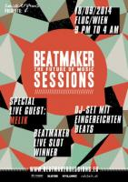Flyer für 18 September BEATMAKER SESSION