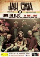Flyer für 17 September LIVE: JAH GAIA (Reggae/FR)
