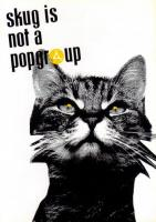 Flyer für 22 Oktober skug-Symposium / KLUB MOOZAK