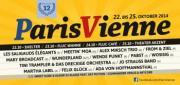Flyer für 23 Oktober Paris Vienne Festival