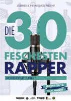 Flyer für 24 Oktober DIE 30 FESCHESTEN RAPPER