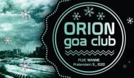 Flyer für 28 Dezember ORION  goa -Weihnachts Party
