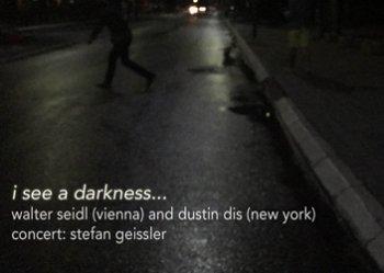Bild zu i see a darkness...