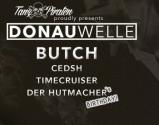Flyer für 13 Feber TanzPiraten proudly pres. DONAUWELLE with BUTCH
