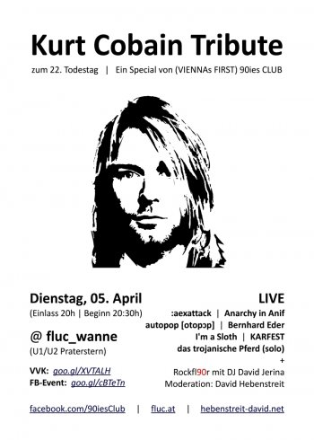 Bild zu Kurt Cobain Tribute zum 22. Todestag