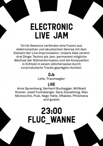 Bild zu Circle Sessions- ELECTRONIC LIVE JAM