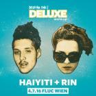 Flyer für 04 July Beat the Fish Deluxe Warm Up mit Haiyti   RIN