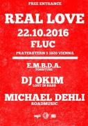 Flyer für 22 October REAL LOVE