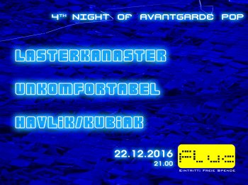 Bild zu 4th Night of Avantgarde Pop
