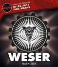 Flyer für 27 May Bass_a_tek pres WESER Narkotek