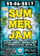 Flyer für 22 June HipHop Summer Jam