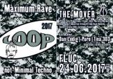 Flyer für 24 June LOOP