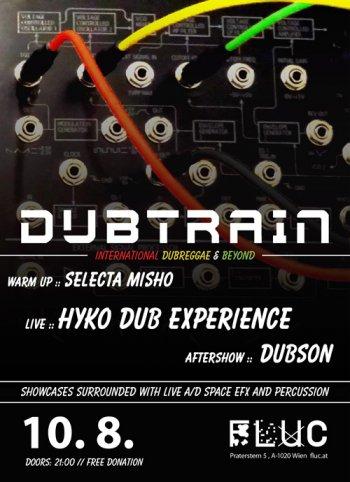 Bild zu Dubtrain - international dubreggae & beyond