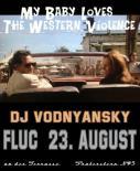 Flyer für 23 August DJ Felix Vodnyansky