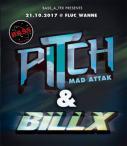 Flyer für 21 October Bass_a_Tek presents Billx & Pitch Mad Attak