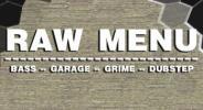 Flyer für 23 November RAW MENU
