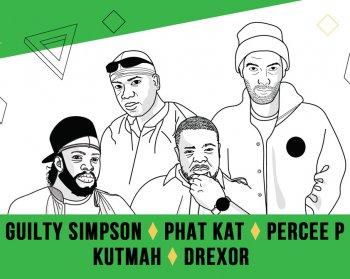 Bild zu Fear le Funk - Guilty Simpson, Phat Kat, Percee P & Kutmah