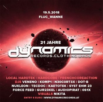 Bild zu 21 Jahre Dynamics local Hardtek / Hardcore / Frenchcoreaction