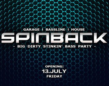 Bild zu SPINBACK - The Bassline Club - Opening Party!