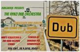 Flyer für 25 September Hyko Dub Orchestra