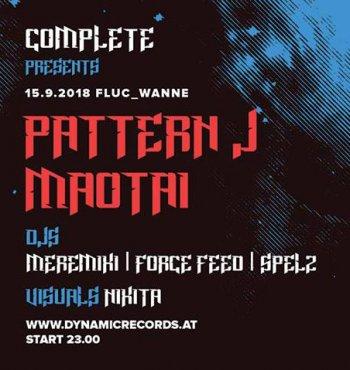 Bild zu Complete presents Pattern J & Maotai ( Peacock Records )