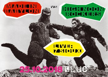 Bild zu HIGH NOON ROCKERS vs MADE IN BABYLON pres.