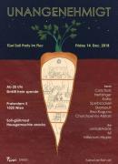 Flyer für 14 December UnAnGenehmigt - TüWi Soli Party