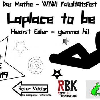 Bild zu Laplace to be! Das Mathe - WIWI Fest