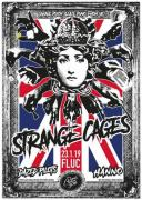 Flyer für 23 January Strange Cages / Dazed Pilots / Hanno