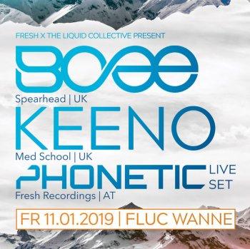 Bild zu Fresh x Liquid Collective pres. Bcee, KEENO & Phonetic