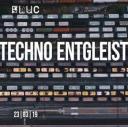 Flyer für 23 March Techno entgleist x Free Party