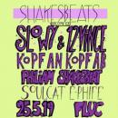 Flyer für 25 May SHAKESBEATS VOL. 5.5
