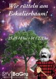 Flyer für 23 May Soziologiefest - Wir rütteln am Eskalierbaum!