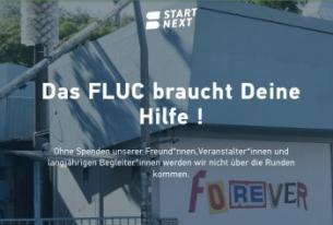 Flyer für DAS FLUC BRAUCHT DEINE HILFE