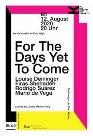 Flyer für 12 August IN DER KUBATUR DES KABINETTS- der Kunstsalon zeigt