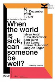Flyer für 16 December IN DER KUBATUR DES KABINETTS- der Kunstsalon zeigt