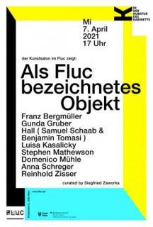 Flyer für 07 April IN DER KUBATUR DES KABINETTS- der Kunstsalon zeigt